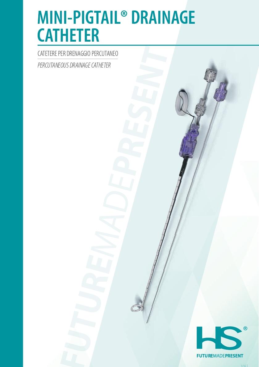 Mini Pigtail Drainage Catheter Hs Hospital Service